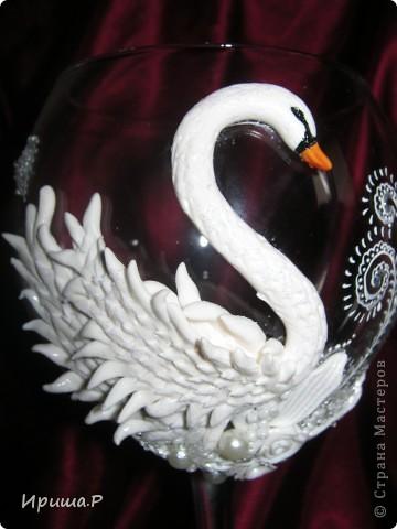 Дорогие мои мастерицы, не знаю кто первый смышленый и рукастый придумал лепить лебедей, но меня лично изначально вдохновила Морэ. Вот на нее и ссылаюсь..Спасибо большое за вдохновение! фото 7