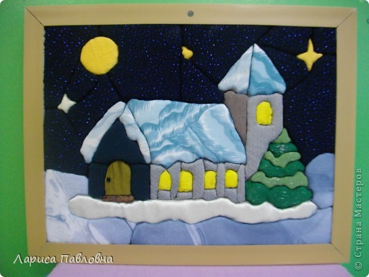 зимняя ночь фото 1