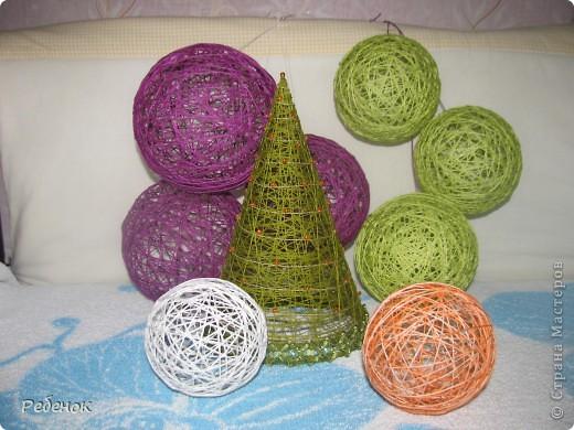 Новогодние шары своими руками на елку мастер