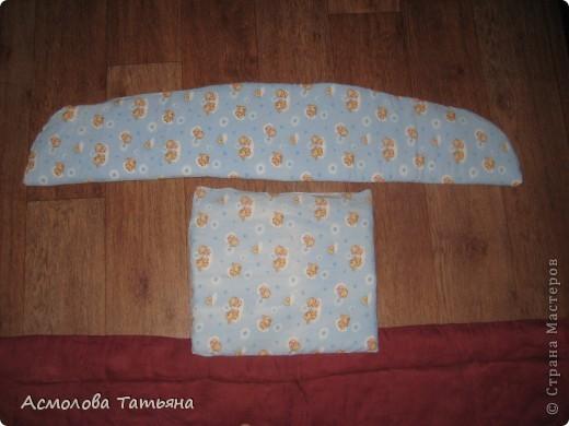 Вот такую сидушку я сшила за пару часиков для наших новых санок. фото 3