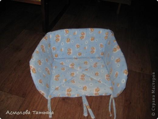 Вот такую сидушку я сшила за пару часиков для наших новых санок. фото 1