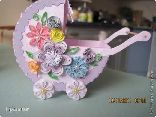 Моя кума, для которой я в свое время делала вот эту коробочку https://stranamasterov.ru/node/226310, в октябре родила девочку. Наша семья была приглашена на крестины Лизоньки. Хочу показать Вам наши подарки. фото 1