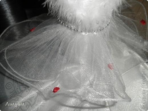 Вот,первая --сладкая парочка--мои свадебные бутылочки жених и невеста!  фото 6