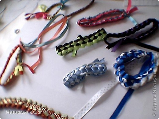 """браслеты из лент или """"фенечки"""" фото 1"""