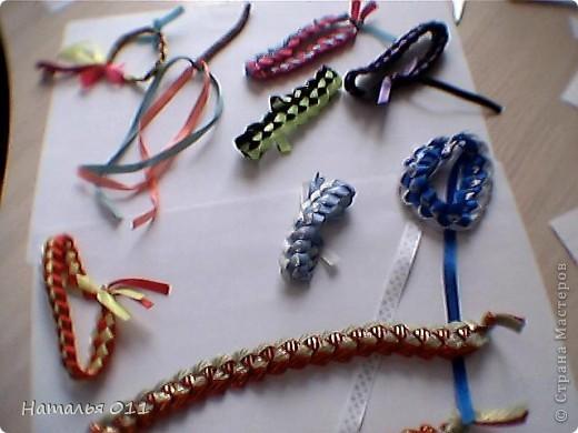 """браслеты из лент или """"фенечки"""" фото 2"""