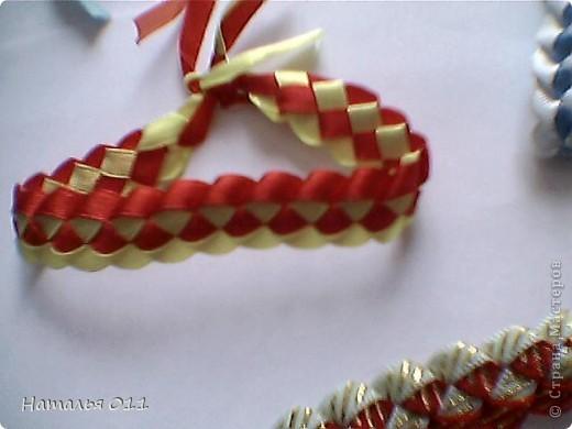 """браслеты из лент или """"фенечки"""" фото 6"""