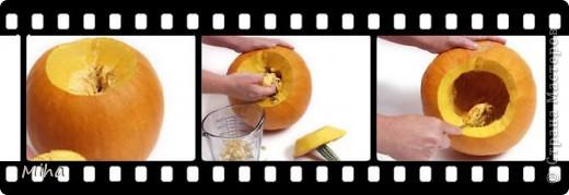 Инструменты: - «крепкая» столовая ложка, - пару наточенных ножей с лезвиями разной длины, - фломастер или маркер для нанесения рисунка для вырезания, - маленькая (невысокая) свечка фото 2