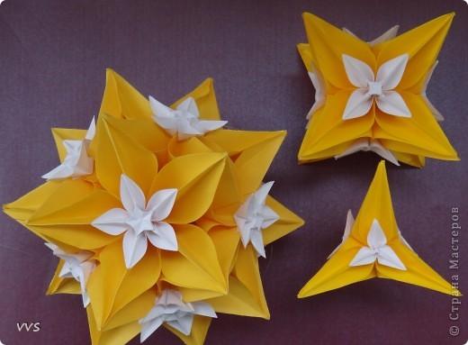 Кусудама Оригами Инволюция