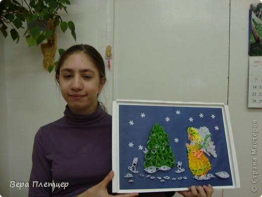 """На конкурс """"Рождественские фантазии"""" Оля Лисаневич сделала такую картину. фото 3"""
