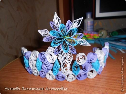 Скоро начнутся предновогодние праздники. Наша снежная королева будет волшебной в этой короне! фото 6