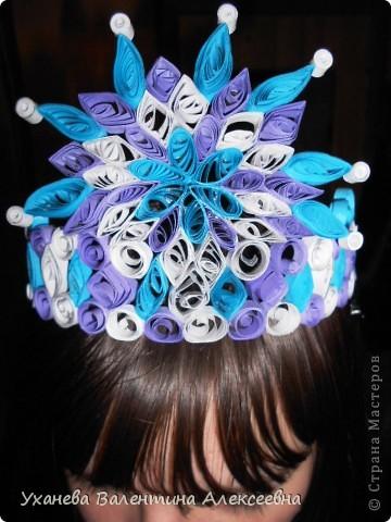 Скоро начнутся предновогодние праздники. Наша снежная королева будет волшебной в этой короне! фото 1