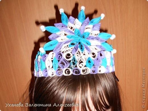 Скоро начнутся предновогодние праздники. Наша снежная королева будет волшебной в этой короне! фото 9