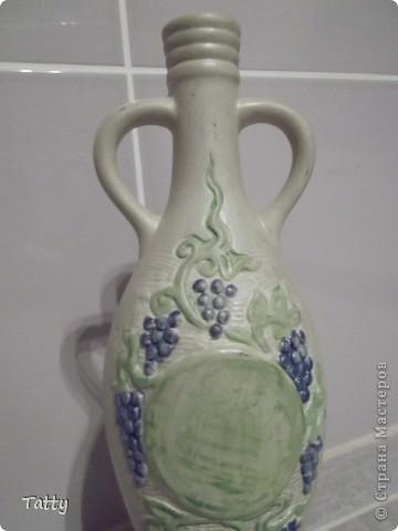 Изначально это был графин из под грузинского вина. фото 3