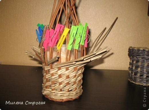 """Поздравляю всех жительниц """"Страны мастеров"""" с Днем матери! Делюсь своими новинками: многострадальный поднос и не менее вымученная карандашница. Заодно, как всегда, показываю изнанку работы и МК новых для меня узоров. фото 16"""