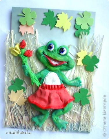Здравствуйте! Меня зовут Ежуня! Я теперь живу у Олечки Экзотика! Меня вылепили чтобы я поздравила её с днем рождения! Я иду из леса с грибочками и красивыми веточками! Так хочется понравиться Олечке! фото 6