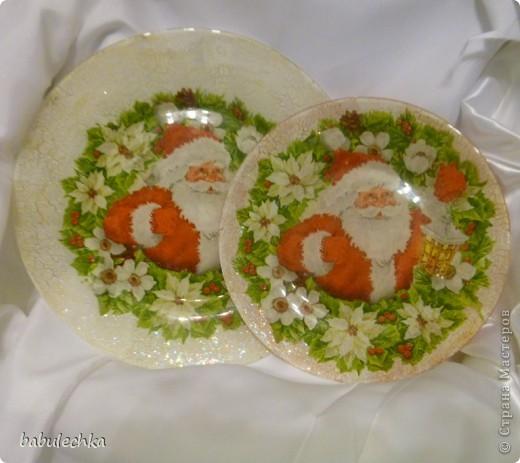 Вот так сверкает новогодняя тарелка! фото 2