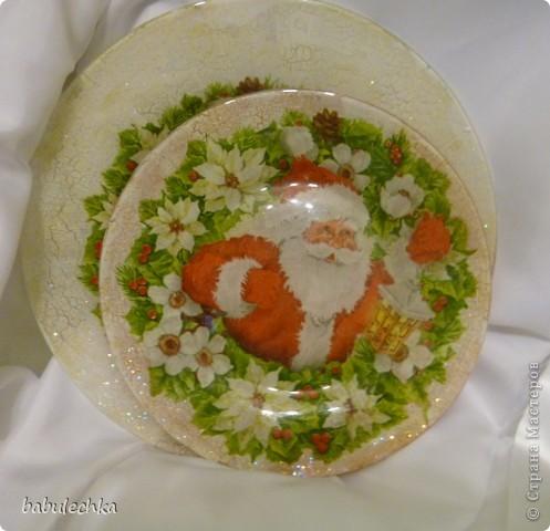 Вот так сверкает новогодняя тарелка! фото 7