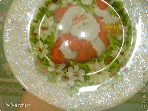 Вот так сверкает новогодняя тарелка! фото 1