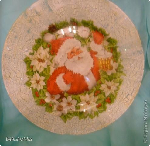 Вот так сверкает новогодняя тарелка! фото 3