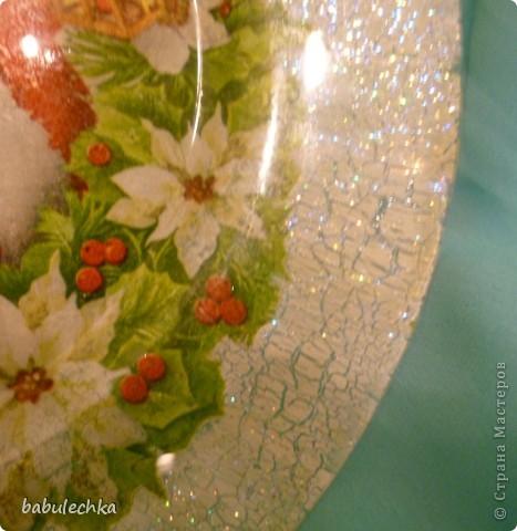 Вот так сверкает новогодняя тарелка! фото 6
