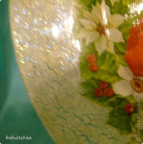 Вот так сверкает новогодняя тарелка! фото 4