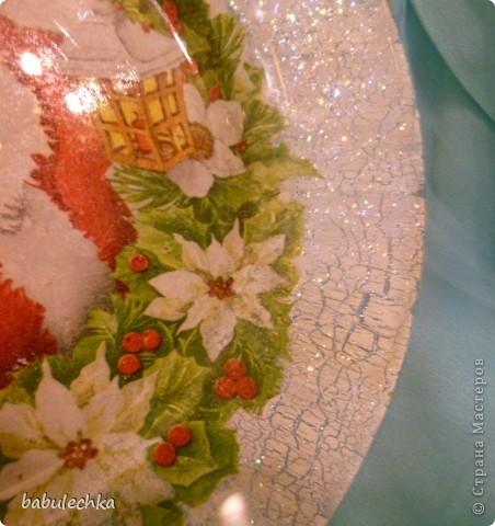 Вот так сверкает новогодняя тарелка! фото 5