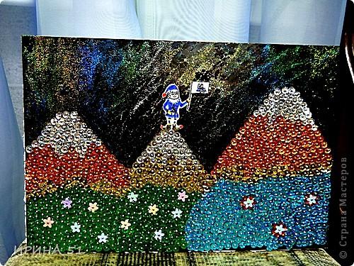 Картина из пайеток. фото 2