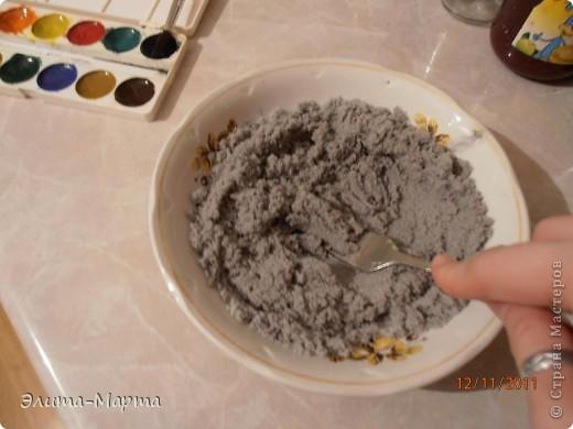 В этот раз решила красить соль акварелью.  фото 2