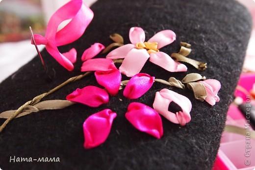 Украсим валенки цветами! фото 3