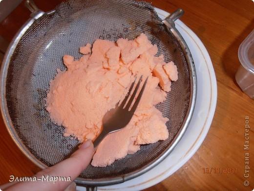 В этот раз решила красить соль акварелью.  фото 4