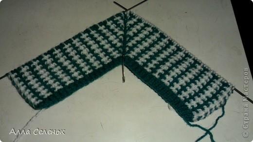 Гардероб Мастер-класс Вязание спицами Вязание тапочек-следочков Пряжа фото 8