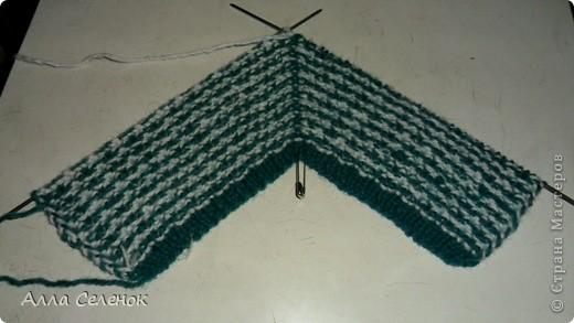 Гардероб Мастер-класс Вязание спицами Вязание тапочек-следочков Пряжа фото 9