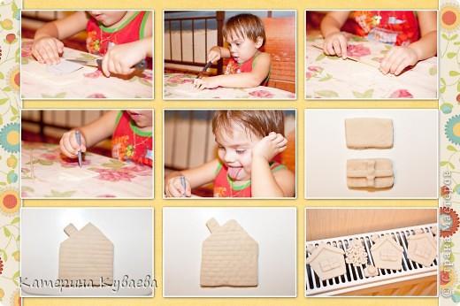 Всем снова здравствуйте!!)))) На этот раз, мы решили сделать вот такие домики и назвали их «Снежные избушки»))) Как всегда это просто и интересно))))  фото 2