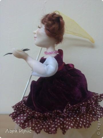 Дорогие, Мастерицы!Хочу познакомить вас, с моей новой куклой. Имя я ей не придумала, поэтому пусть будет Бабочка. фото 4