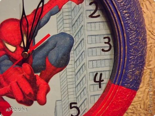 Икеевские часы, салфетка, подрисовка, текстурная паста, акриловые краски фото 2