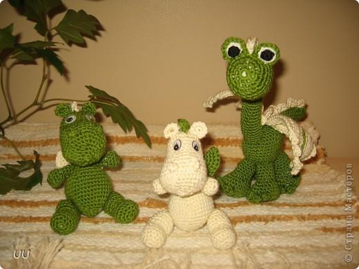 Спасибо форумчанкам с Осинки за описание дракончиков. Мои мужчины ни как поделить игрушки не могут.  фото 1
