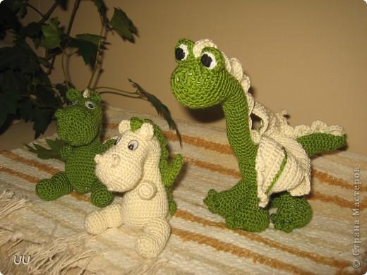 Спасибо форумчанкам с Осинки за описание дракончиков. Мои мужчины ни как поделить игрушки не могут.  фото 2