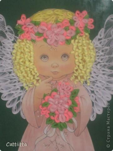 Очень мне нравятся ангелочки Jullica. Давно мечтала сделать, и вот, мечта сбылась. Правда пока только в лице одного ангелочка, но я надеюсь, это только начало. фото 1