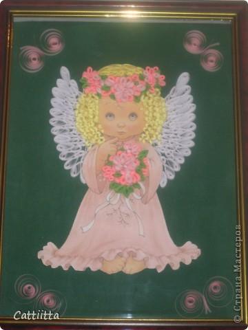 Очень мне нравятся ангелочки Jullica. Давно мечтала сделать, и вот, мечта сбылась. Правда пока только в лице одного ангелочка, но я надеюсь, это только начало. фото 4