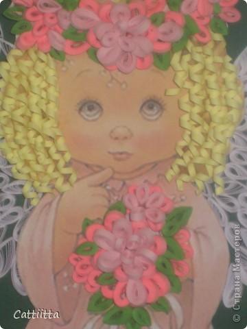 Очень мне нравятся ангелочки Jullica. Давно мечтала сделать, и вот, мечта сбылась. Правда пока только в лице одного ангелочка, но я надеюсь, это только начало. фото 2