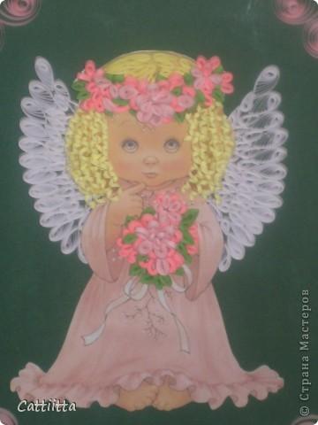 Очень мне нравятся ангелочки Jullica. Давно мечтала сделать, и вот, мечта сбылась. Правда пока только в лице одного ангелочка, но я надеюсь, это только начало. фото 3