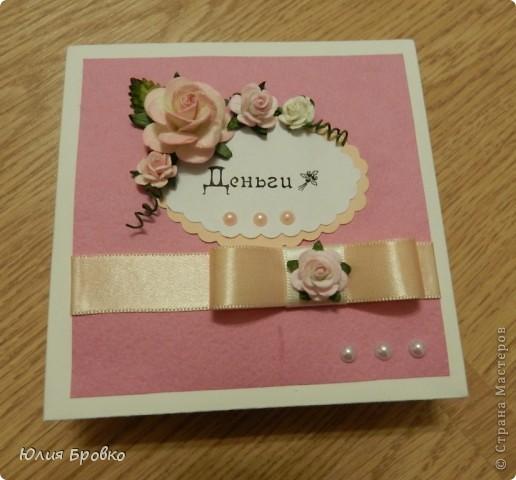 Эту коробочку я сделала на День Матери для своей мамули фото 3