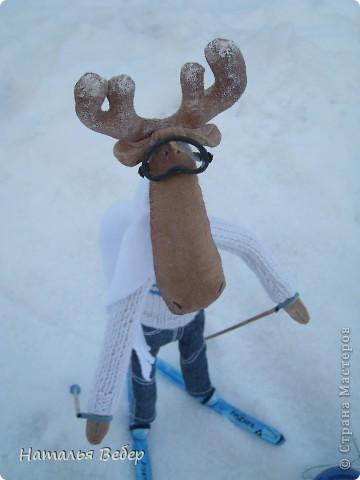 Вот и пришла пора быстрой,экстремальной лыжни!!!Снег хрустит под ногами,приятный морозец щиплет щеки,настроение бодрое...предвкушение ...покатаемся!!!! фото 5