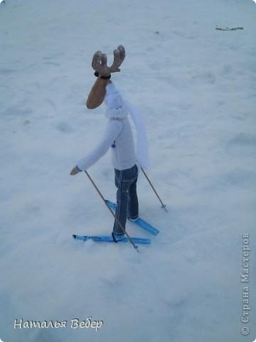 Вот и пришла пора быстрой,экстремальной лыжни!!!Снег хрустит под ногами,приятный морозец щиплет щеки,настроение бодрое...предвкушение ...покатаемся!!!! фото 6
