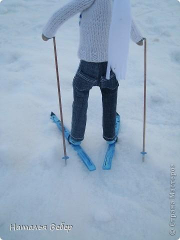 Вот и пришла пора быстрой,экстремальной лыжни!!!Снег хрустит под ногами,приятный морозец щиплет щеки,настроение бодрое...предвкушение ...покатаемся!!!! фото 7
