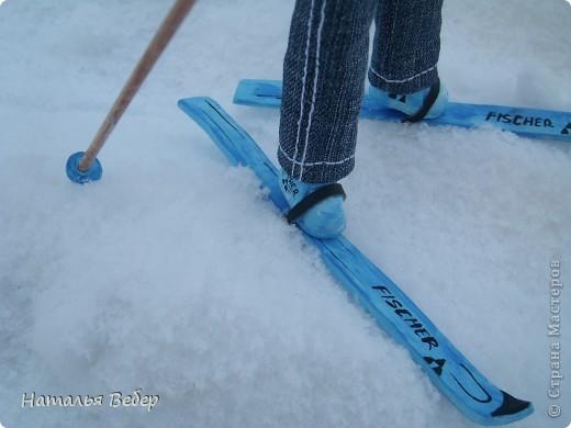 Вот и пришла пора быстрой,экстремальной лыжни!!!Снег хрустит под ногами,приятный морозец щиплет щеки,настроение бодрое...предвкушение ...покатаемся!!!! фото 8