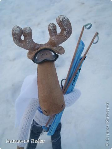 Вот и пришла пора быстрой,экстремальной лыжни!!!Снег хрустит под ногами,приятный морозец щиплет щеки,настроение бодрое...предвкушение ...покатаемся!!!! фото 1