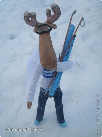 Вот и пришла пора быстрой,экстремальной лыжни!!!Снег хрустит под ногами,приятный морозец щиплет щеки,настроение бодрое...предвкушение ...покатаемся!!!! фото 3