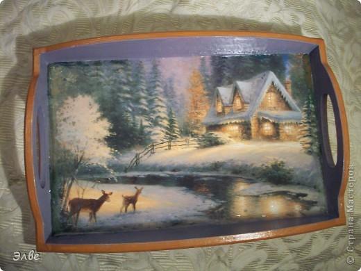 Поднос в подарок учительнице. фото 2
