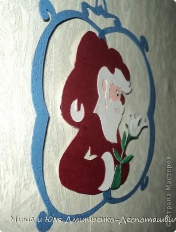 В руках нашего сегодняшнего Дедушки Мороза даже веточки расцветают - до того он добрый и нежный!  фото 2